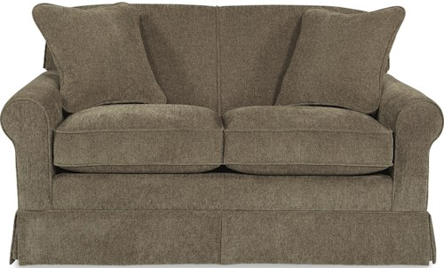 La-Z-Boy Madeline Apartment Size Sofa with Rolled Arms