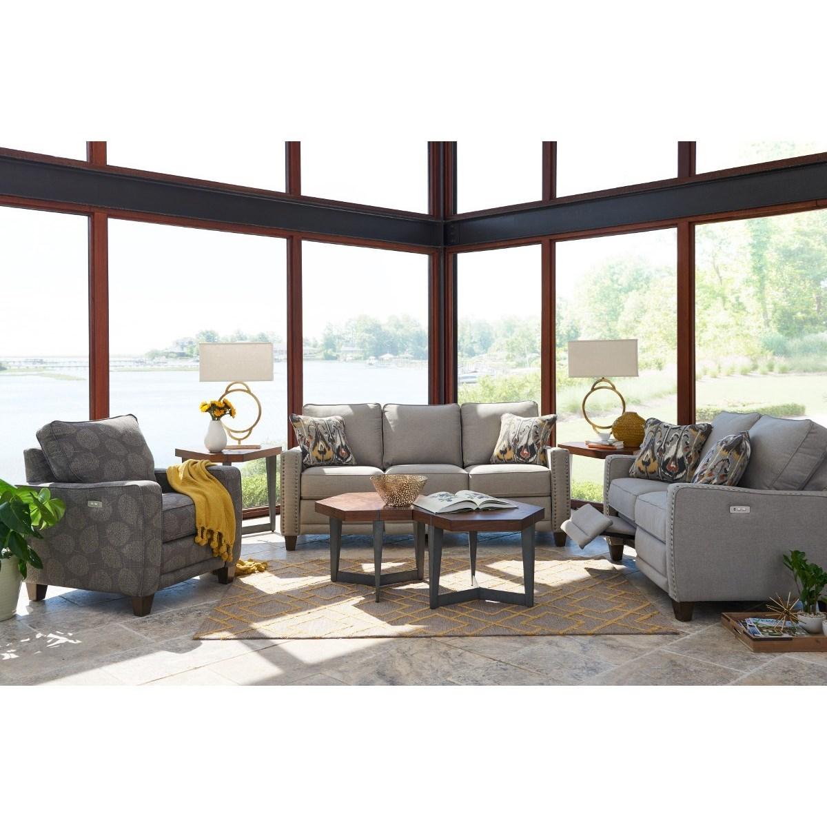 La Z Boy Makenna Reclining Living Room Group   Knight Furniture U0026 Mattress    Reclining Living Room Groups