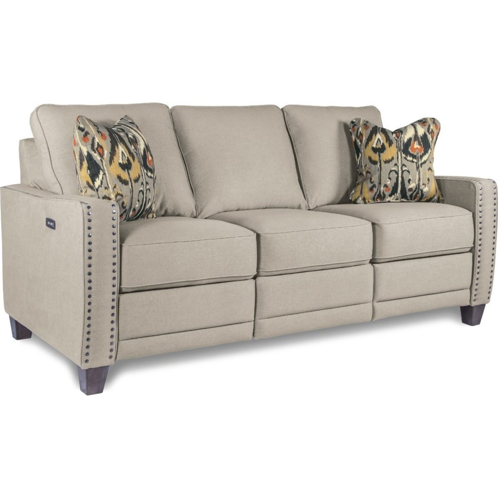 La Z Boy Makenna Duo Power Reclining Sofa With Usb Charging Ports  ~ Rooms To Go Reclining Sofa