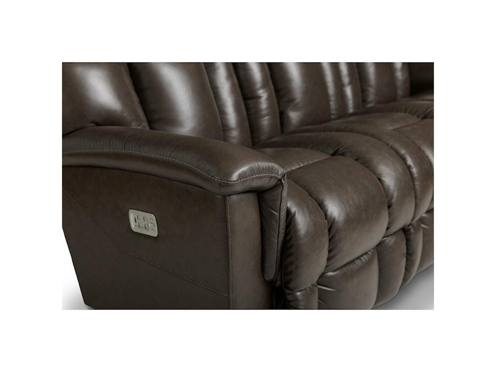 La-Z-Boy MateoPower Wall Reclining Sofa w/ Headrest & Lumb
