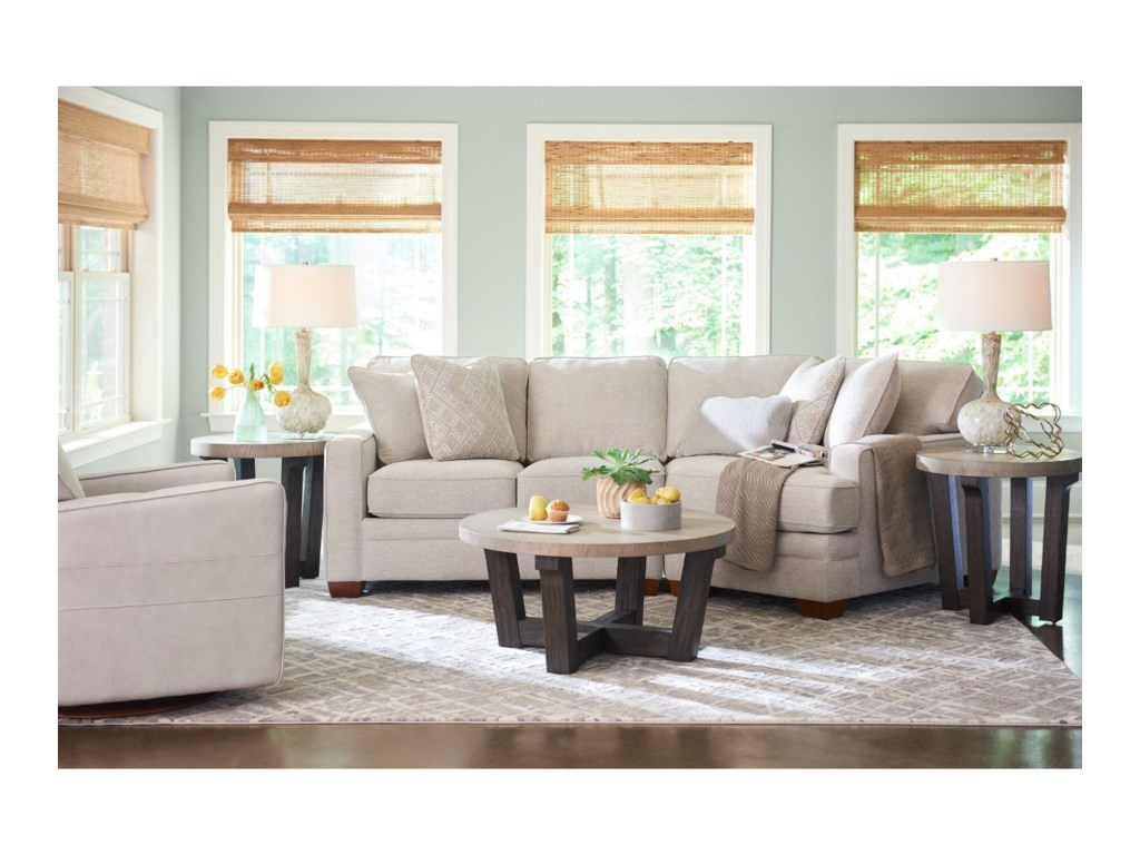 La-Z-Boy Meyer2-Pc Sectional w/ LAS Cuddler