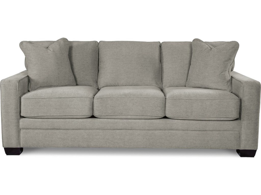 La-Z-Boy Meyer Contemporary Sofa with Premier ComfortCore Cushions ...