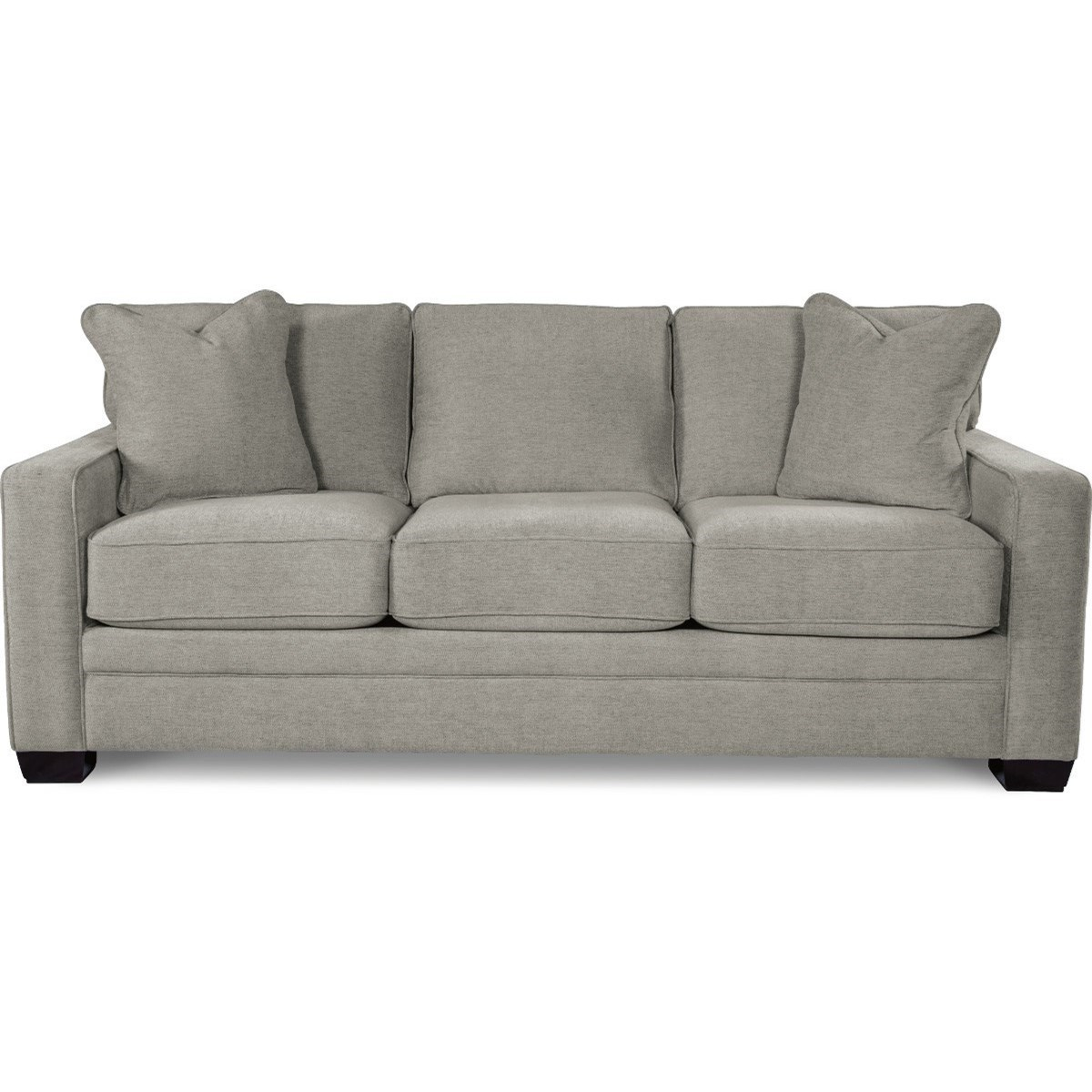 La Z Boy Sofa La-Z-Boy Meyer Contemporary Sofa with Premier ComfortCore Cushions