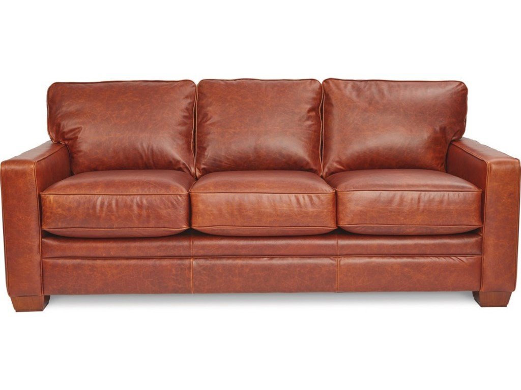 La Z Boy Meyer Contemporary Sofa With