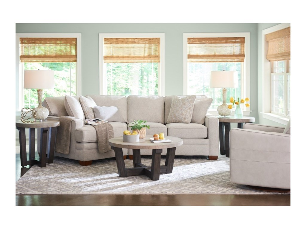 La-Z-Boy Meyer2-Pc Sectional w/ RAS Cuddler