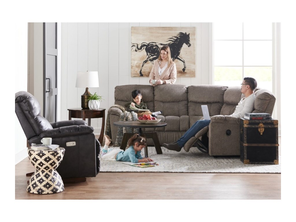 La-Z-Boy Morrison4-Seat Reclining Sectional Sofa