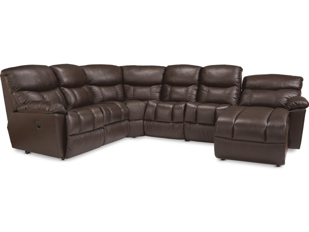 La-Z-Boy Morrison5-Seat Reclining Sectional w/  RAF Chaise
