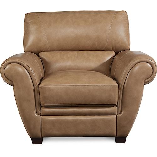La-Z-Boy Nitro Leather Match Stationary Chair
