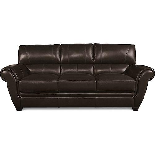 La-Z-Boy Nitro Leather Match Sofa