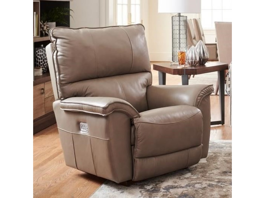 La-Z-Boy NorrisPower Rocking Recliner w/ Headrest & Lumbar