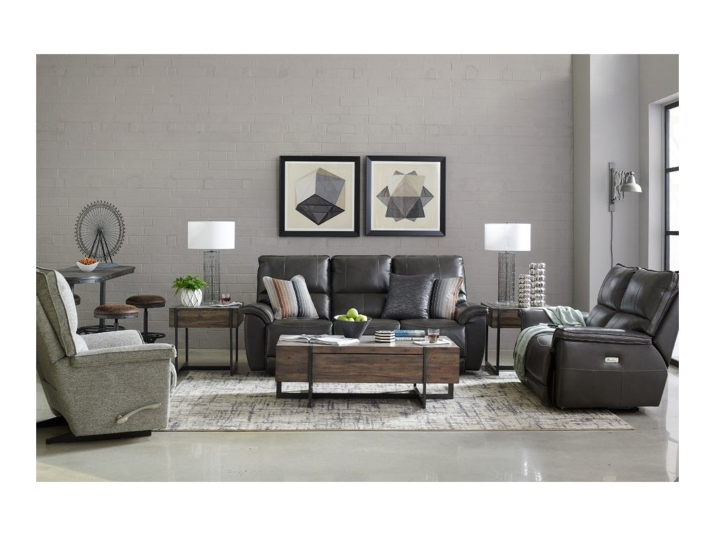 La-Z-Boy NorrisLa-Z-Time Full Reclining Loveseat