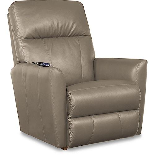 La-Z-Boy Odon Contemporary 2-Motor Massage & Heat Rocking Recliner