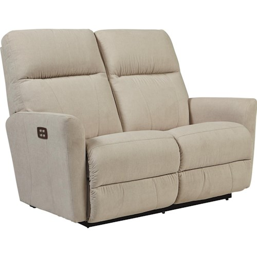 La-Z-Boy Odon Contemporary Power-Recline-XRw™ Wall-Saver Reclining Loveseat