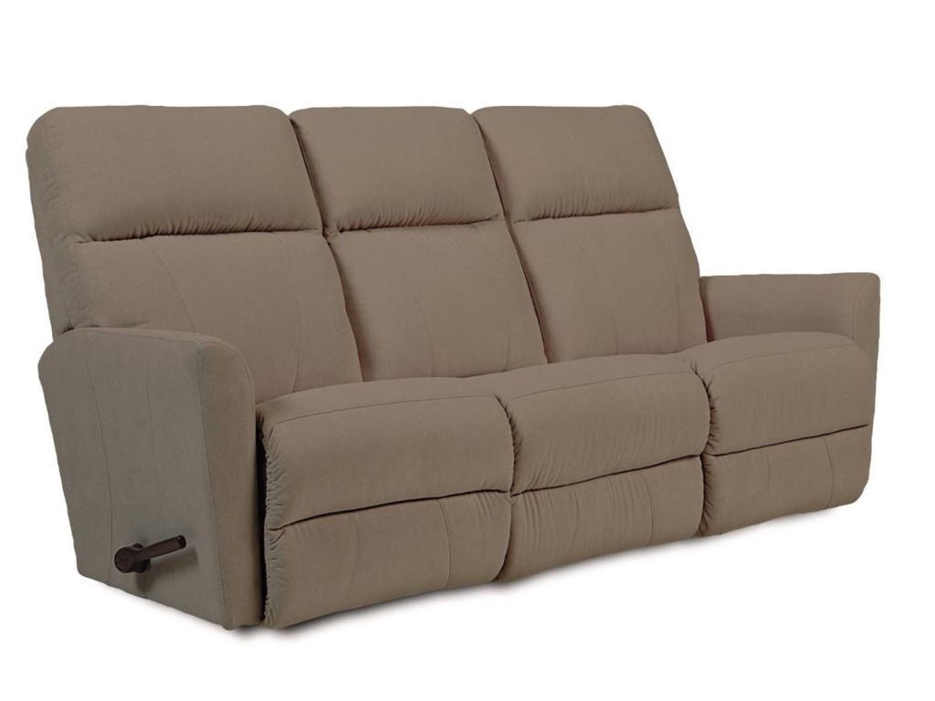 La Z Boy Odon Contemporary Wall Saver Reclining Sofa Jordan S Home
