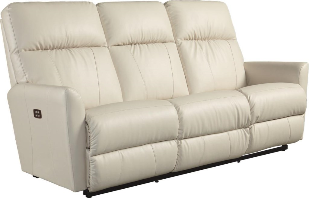 La Z Boy Odon 33p710 Contemporary Power Recline Xrw Wall Saver  ~ Motorized Reclining Sofa