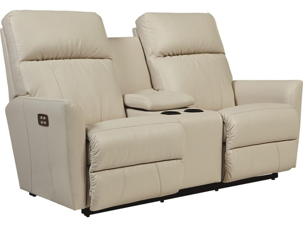 La-Z-Boy OdonPower-Recline-XRw™ Loveseat w/ Console