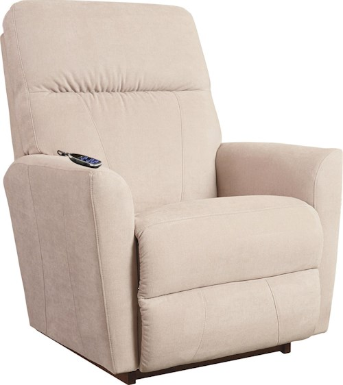 La-Z-Boy Odon Contemporary 2-Motor Massage & Heat Rocking Recliner with Infinite Position Power