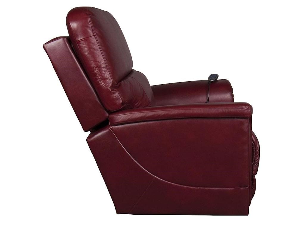La-Z-Boy OscarOscar Leather-Match Recliner w/pwr Lumbar