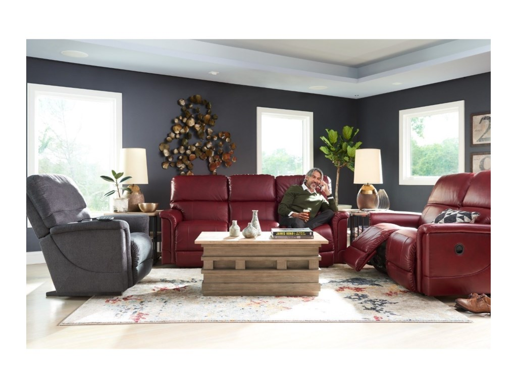 La-Z-Boy OscarLa-Z-Time® Full Reclining Sofa