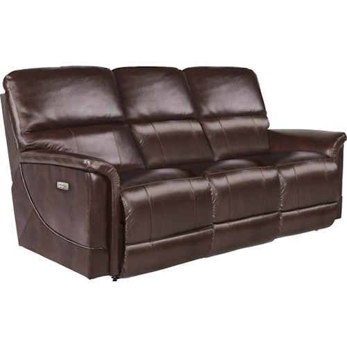 La Z Boy Oscar Casual Reclining Sofa With Usb Charging Ports