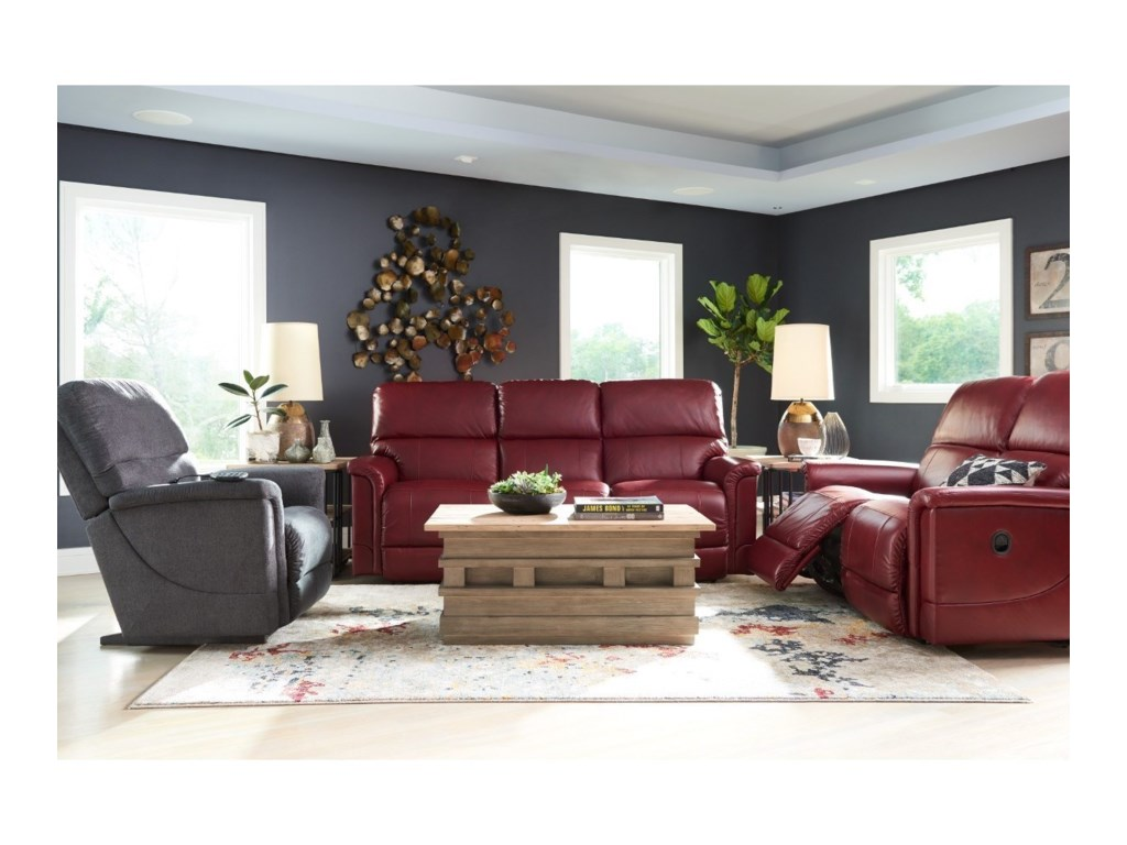 La-Z-Boy OscarLa-Z-Time® Full Reclining Loveseat