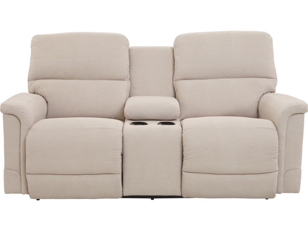 La-Z-Boy OscarLa-Z-Time® Full Reclining Loveseat w/Console