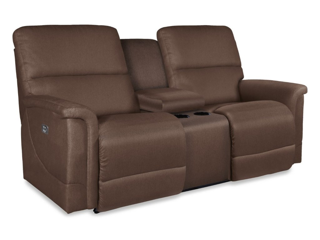 La-Z-Boy OscarPower La-Z-Time® Full Reclining Loveseat w/C