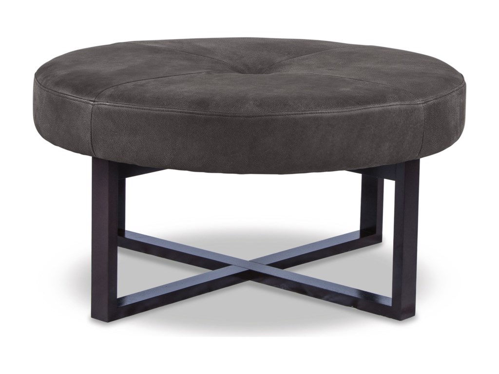 La-Z-Boy Ottomans Logan Circle Ottoman