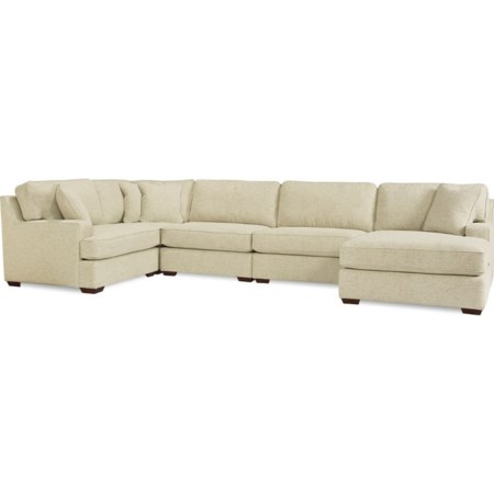 5-Seat Sectional Sofa w/Left arm sitting cha