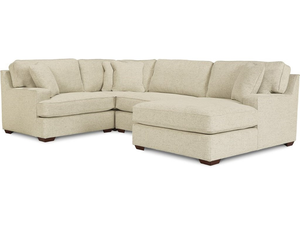 La-Z-Boy Paxton3-Seat Sectional Sofa w/ Right Chaise