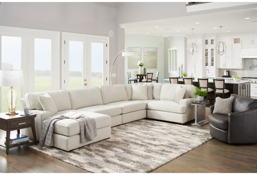 Paxton 4 Seat Premier Sectional Sofa