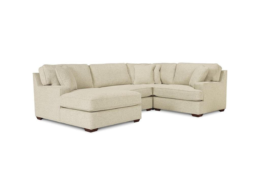 La-Z-Boy Paxton3-Seat Sectional Sofa w/ Left Chaise
