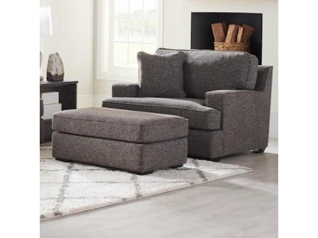 La-Z-Boy PaxtonOversized Chair & Ottoman Set
