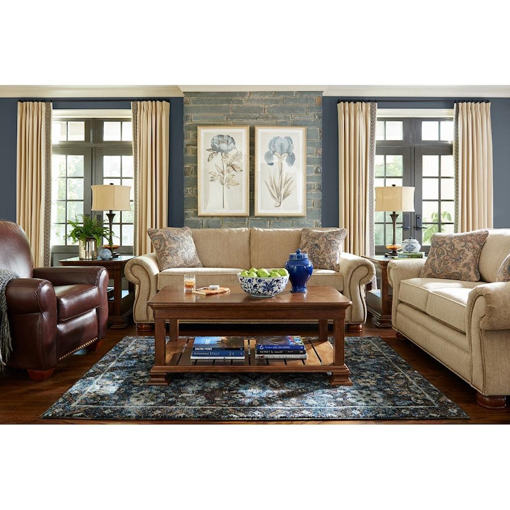 la-z-boy pembroke living room group - adcock furniture