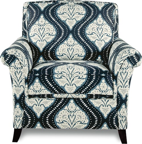 La-Z-Boy Phoebe Transitional Flared Arm Chair