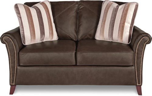 La-Z-Boy Phoebe Transitional Flared Arm Loveseat