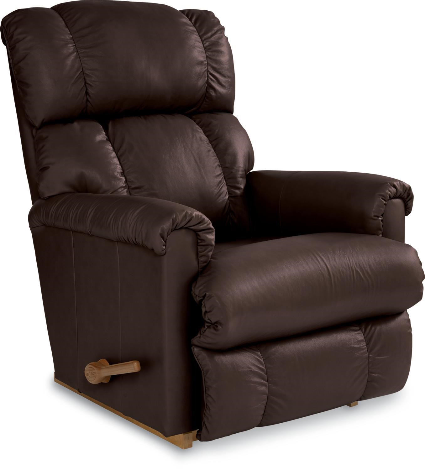 La-Z-Boy Pinnacle Expresso Leather Rocker Recliner - Great American Home Store - Three Way Recliners  sc 1 st  Great American Home Store & La-Z-Boy Pinnacle Expresso Leather Rocker Recliner - Great ... islam-shia.org