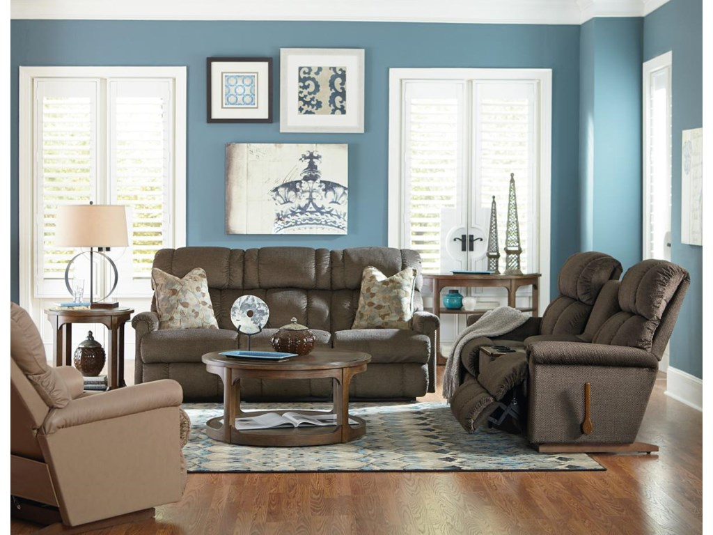 La-Z-Boy Pinnacle 3 Piece Sectional Reclining Sofa with Middle ...