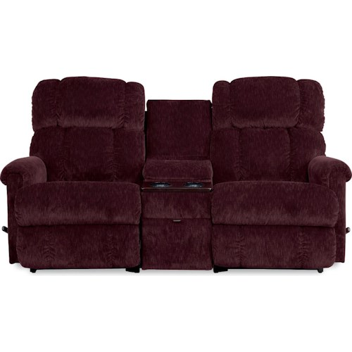 La-Z-Boy Pinnacle 3 Piece Sectional Reclining Sofa with Middle Console