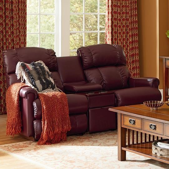 La Z Boy Pinnacle 3 Piece Sectional Reclining Sofa With Middle Console