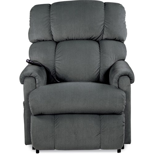 La-Z-Boy Pinnacle Platinum Luxury Lift® Power-Recline-XR Recliner with 6-motor Massage and Heated Seats