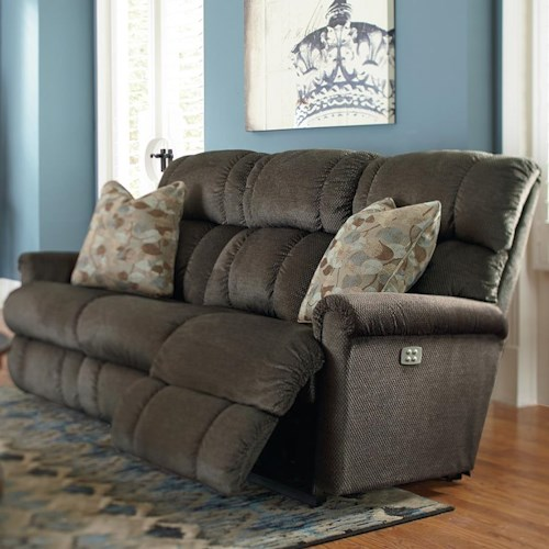 La Z Boy Pinnacle Power Recline Xrw Full Reclining Sofa