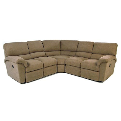 La Z Boy Tyson 3pc Reclining Sectional Rotmans