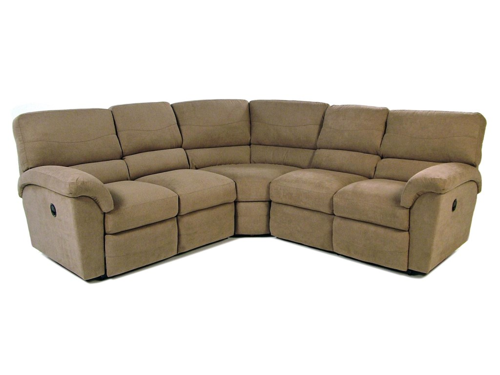 Tyson 3PC Reclining Sectional by La-Z-Boy at Rotmans