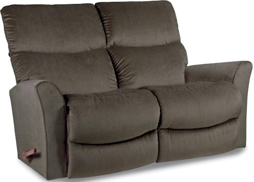 La-Z-Boy ROWAN Contemporary Reclina-Way® Full Reclining Loveseat