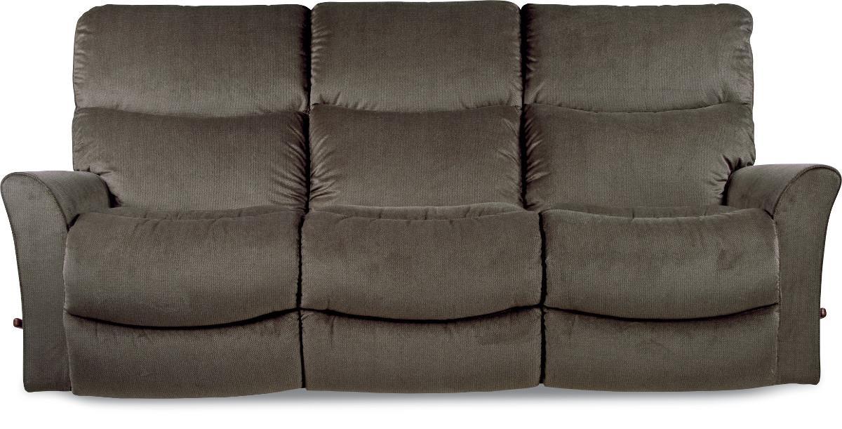 La Z Boy ROWAN Contemporary Reclina Way® Full Reclining Sofa With Wall