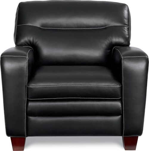 La-Z-Boy SIMONE Contemporary Stationary Chair With Block Legs