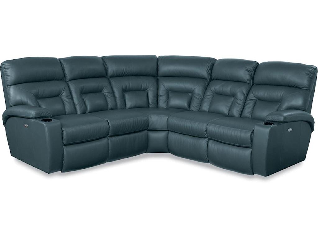La-Z-Boy Spectator5 Pc Power Reclining Sectional Sofa