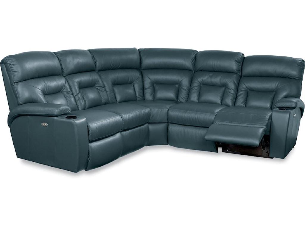 La Z Boy Spectator5 Pc Reclining Sectional Sofa