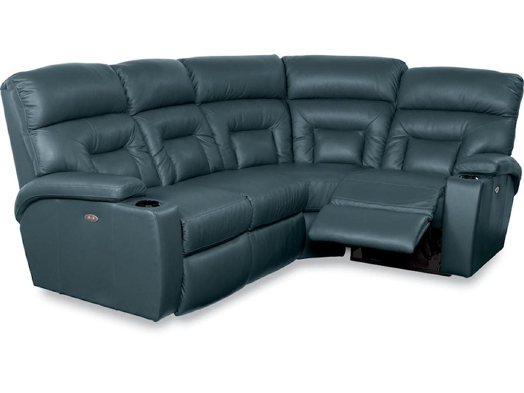 La-Z-Boy Spectator4 Pc Power Reclining Sectional Sofa
